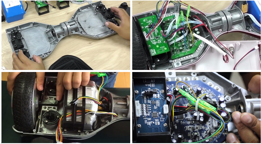 ремонт гироскутеров Razor
