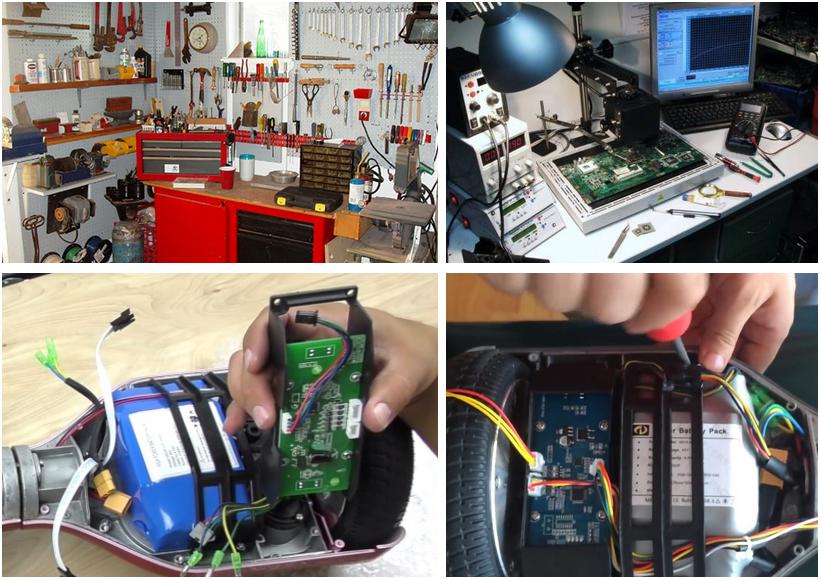 ремонт гироскутеров Ninebot